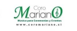 CORO MARIANO – Música para eventos y ceremonias
